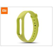 Xiaomi Mi Band 2 aktivitásmérőhöz eredeti szilikon csuklópánt - zöld tablet tok