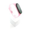 Xiaomi Mi Band 3 4 szilikon szíj - fluoreszkáló világos-neon-rózsaszín