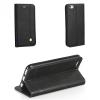Xiaomi Redmi 4A, Oldalra nyíló tok, stand, Prestige Book, fekete
