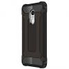 Xiaomi Redmi Note 4, Műanyag hátlap védőtok, Defender, fémhatású, fekete
