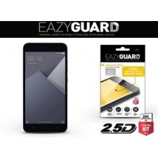 Xiaomi Redmi Note 5A / Note 5A Prime, Kijelzővédő fólia (az íves részre is), Eazy Guard, Diamond Glass (Edzett gyémántüveg), fekete mobiltelefon előlap