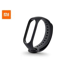 Xiaomi Xiaomi Mi Band 3 aktivitásmérőhöz eredeti gyári szilikon csuklópánt - XMWD02HM - fekete mobiltelefon kellék