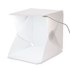 Xmax LightRoom mini, hordozható fénysátor, LED világítással, kétfajta háttérrel tárgysátor
