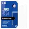 xPRO Kijelzővédő Üveg 0.33, Sony Xperia Z5 Compact (E5823) elő+hátlap