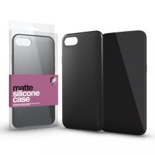 xPRO Szilikon matte tok ultra vékony fekete Huawei P40 Lite készülékhez tok és táska