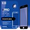 xPRO Tempered Glass full size Black kijelzővédő Samsung A9 (A9000) készülékhez