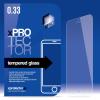 xPRO védőüveg, kijelzővédő üveg, üvegfólia, edzett üveglap – 0.33mm HTC Desire 510 készülékhez