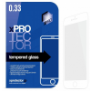 Xprotector Apple iPhone 6/6S Tempered Glass 0.33 Silicone full 3D White kijelzővédő edzett üveg