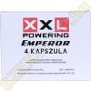 XXL Powering Emperor étrendkiegészítő kapszula - 4 darab