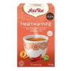 Yogi tea Yogi Bio Életöröm tea, HEARTWARMING, 17 filter