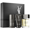 Yves Saint Laurent (YSL) L'Homme férfi parfüm szett (eau de toilette) Edt 100ml+50ml Tusfürdő+75ml Deostift