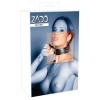 Zado ZADO - 2 gyűrűs, valódi bőr nyakörv (fekete)