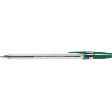 "Zebra Golyóstoll, 0,24 mm, kupakos, ZEBRA ""N-5200"" zöld toll"