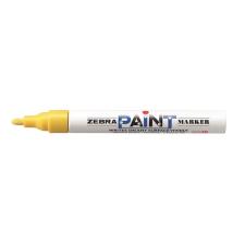 "Zebra Lakkmarker, 3 mm, ZEBRA ""Paint marker"", sárga filctoll, marker"