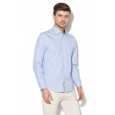 Zee Lane Collection , Slim Fit csíkos ing, Kék/Fehér, S (ZLC18S-3002-LIGHT-BLUE-WHITE-S)