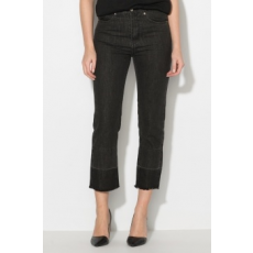 Zee Lane Denim , Crop farmernadrág, Fekete, M (ZL17F-0091-BLACK-M)