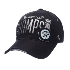 Zephyr Pittsburgh Penguins baseball sapka black 2016 Stanley Cup Champions Flex - XL