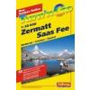 Zermatt / Saas Fee, Outdoor Walker - Hallwag