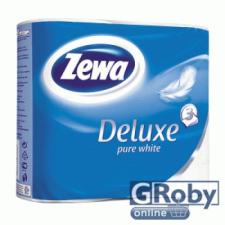 ZEWA Deluxe toalettpapír 4 tekercses (3 rétegű) tiszta fehér higiéniai papíráru