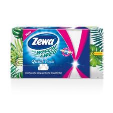 """ZEWA Háztartási papírtörlő, 2 rétegű, 75 lap, ZEWA """"Wish&Weg Quick Pack"""" higiéniai papíráru"""