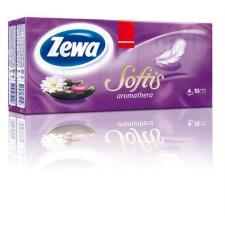 """ZEWA Papír zsebkendő, 4 rétegű, 10x9 db, ZEWA """"Softis"""", aromatherapia higiéniai papíráru"""