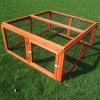 Zooplus Kompakt 4 szögletű ketrec - H 116 cm x Sz 109 cm x M 48 cm