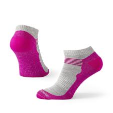 ZULU Merino Summer W szürke/rózsaszín / Zoknie: 35-38 női zokni