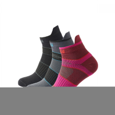 ZULU Sport Low Women 3-pack kevertek / Zoknie: 39-42 női zokni