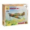 Zvezda British Fighter Hurricane Mk-1 repülő makett Zvezda 6173