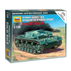 Zvezda German assault gun Stug-III Ausf.B tank makett Zvezda 6155