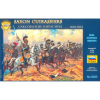 Zvezda Wargames (AoB) figurky 8035 - Saxon Cuirassiers 1810-1814 (1:72)