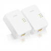 ZyXEL Homeplug hálózati Adapter 1300Mbps Powerline Gigabit adapter (Twin Pack)